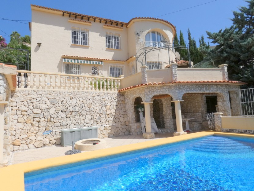 4 Bedroom Villa in Benissa Costa