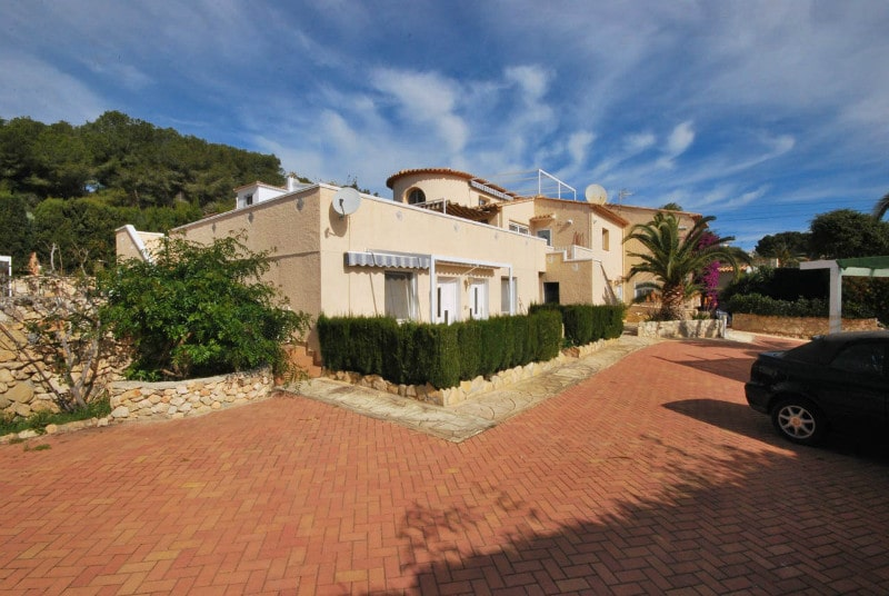 8 Bedroom Villa in Moraira