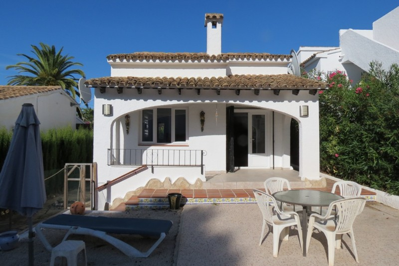 2 Bedroom Villa in Moraira