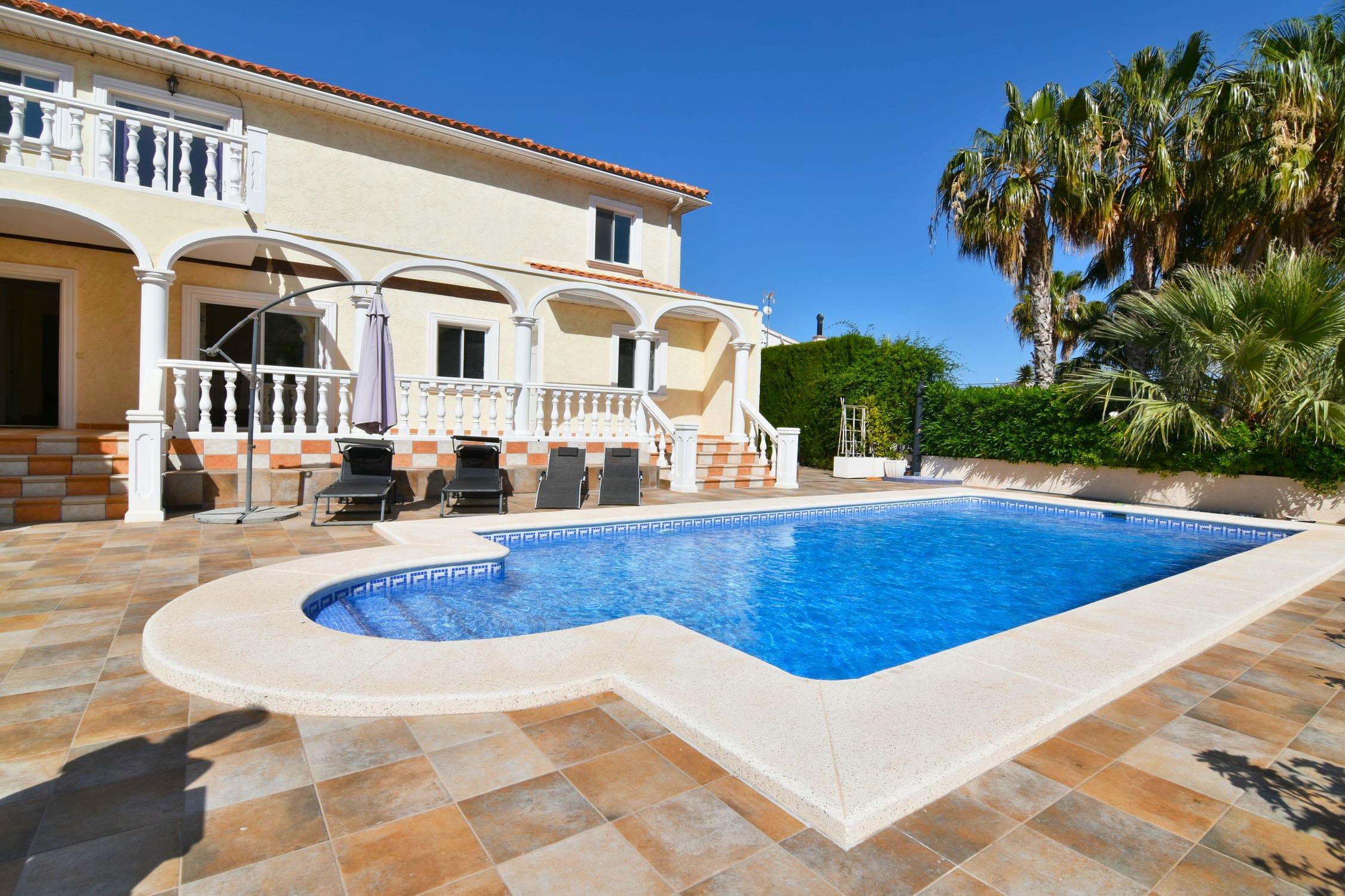 7 Bedroom Villa in Calpe