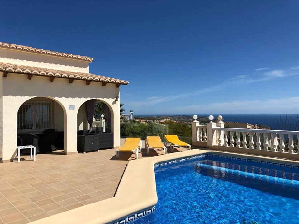 6 Bedroom Villa in Benitachell