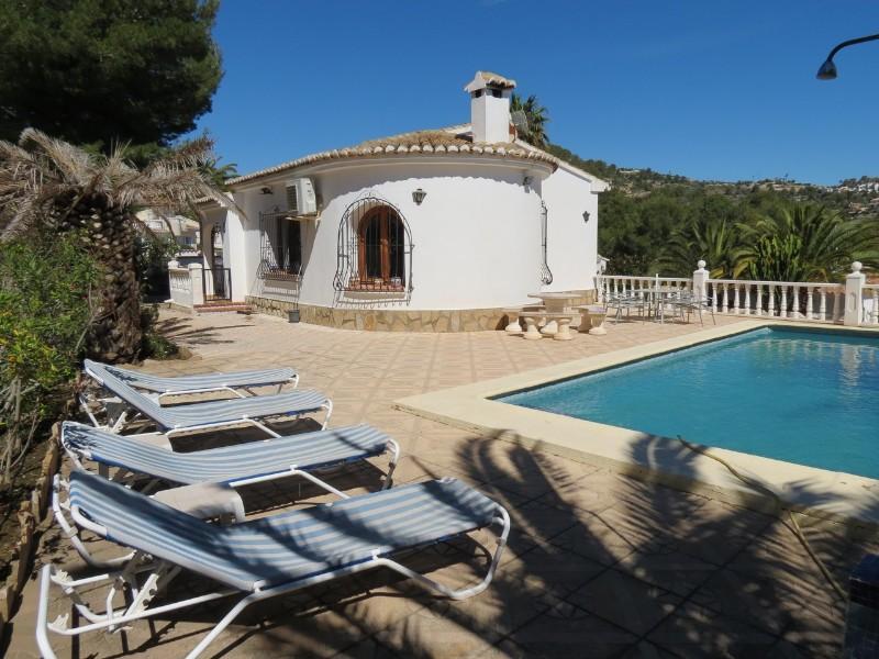 2 Bedroom Villa in Benissa Costa