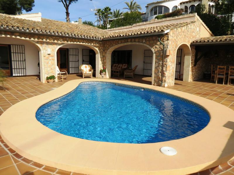 3 Bedroom Villa in Benissa Costa