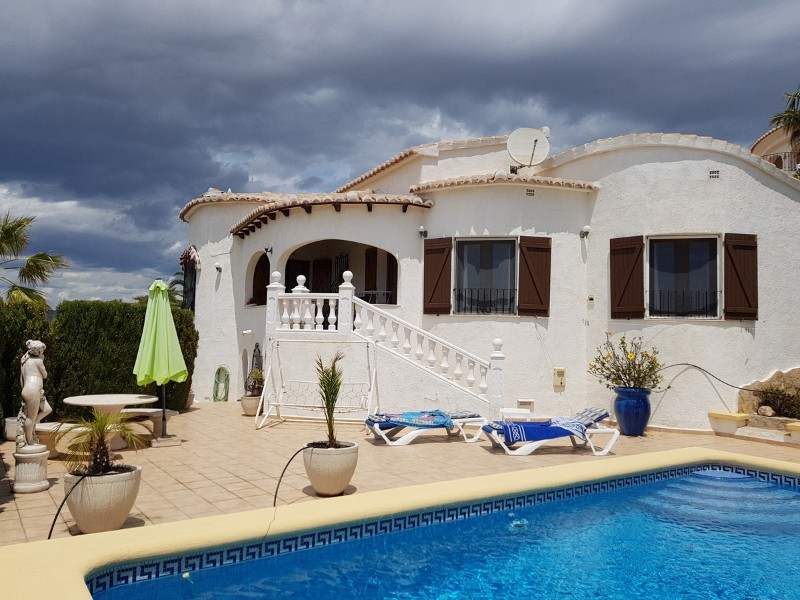 2 Bedroom Villa in Benitachell