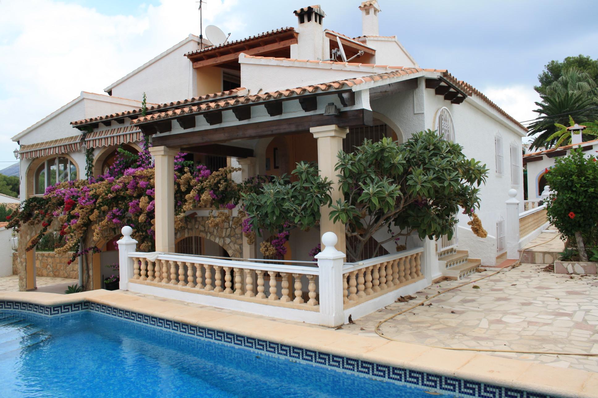 7 Bedroom Villa in Moraira