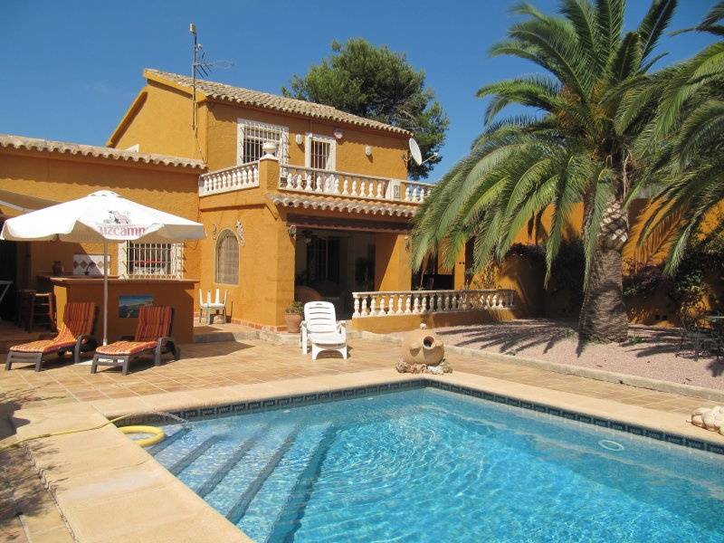 3 Bedroom Villa in Teulada