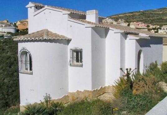 2 Bedroom Villa in Benitachell