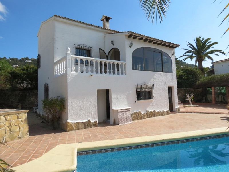 4 Bedroom Villa in Moraira