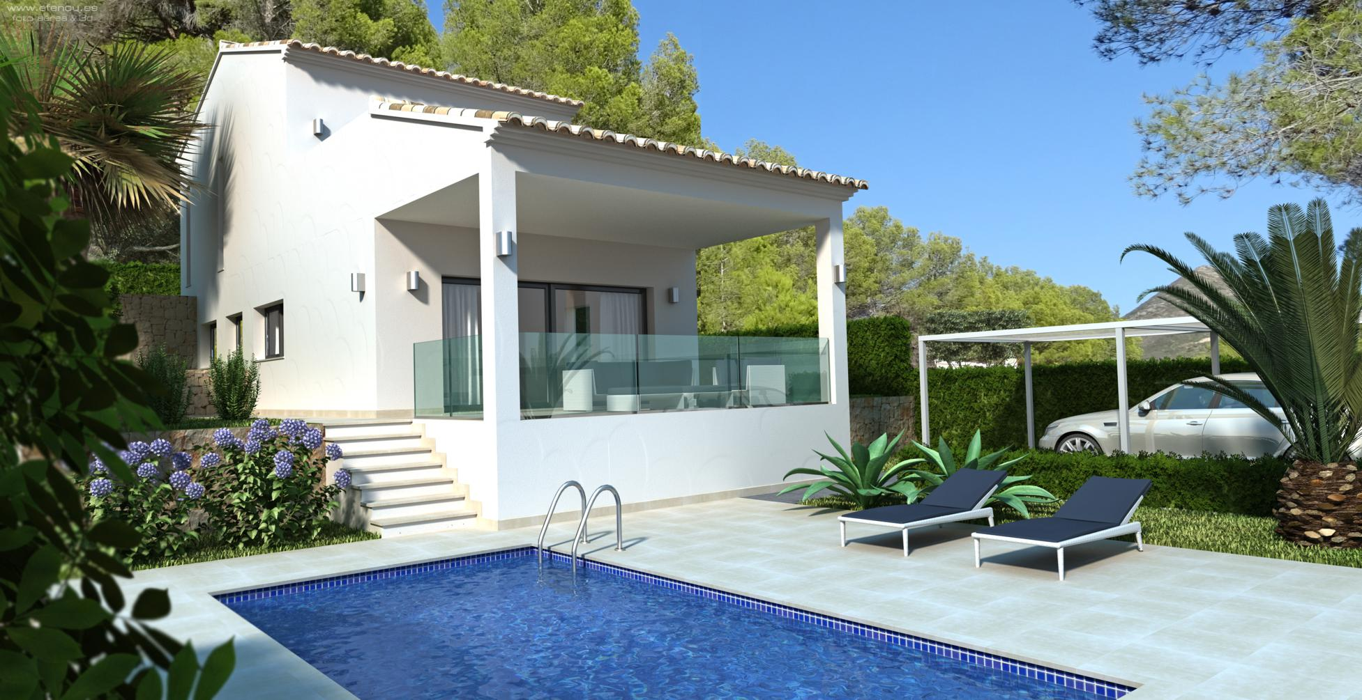 2 Bedroom Villa in Jalon