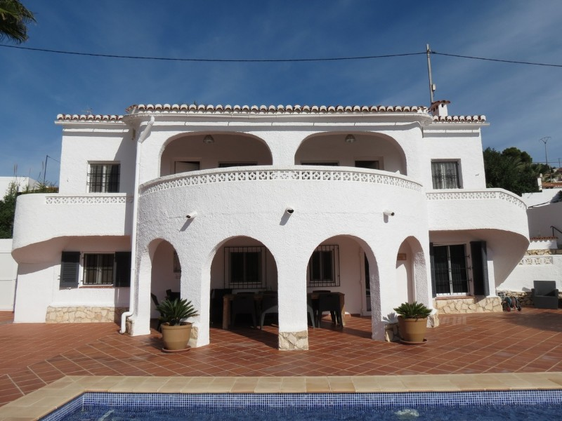 5 Bedroom Villa in Benissa Costa