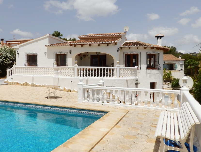 3 Bedroom Villa in Benissa Costa