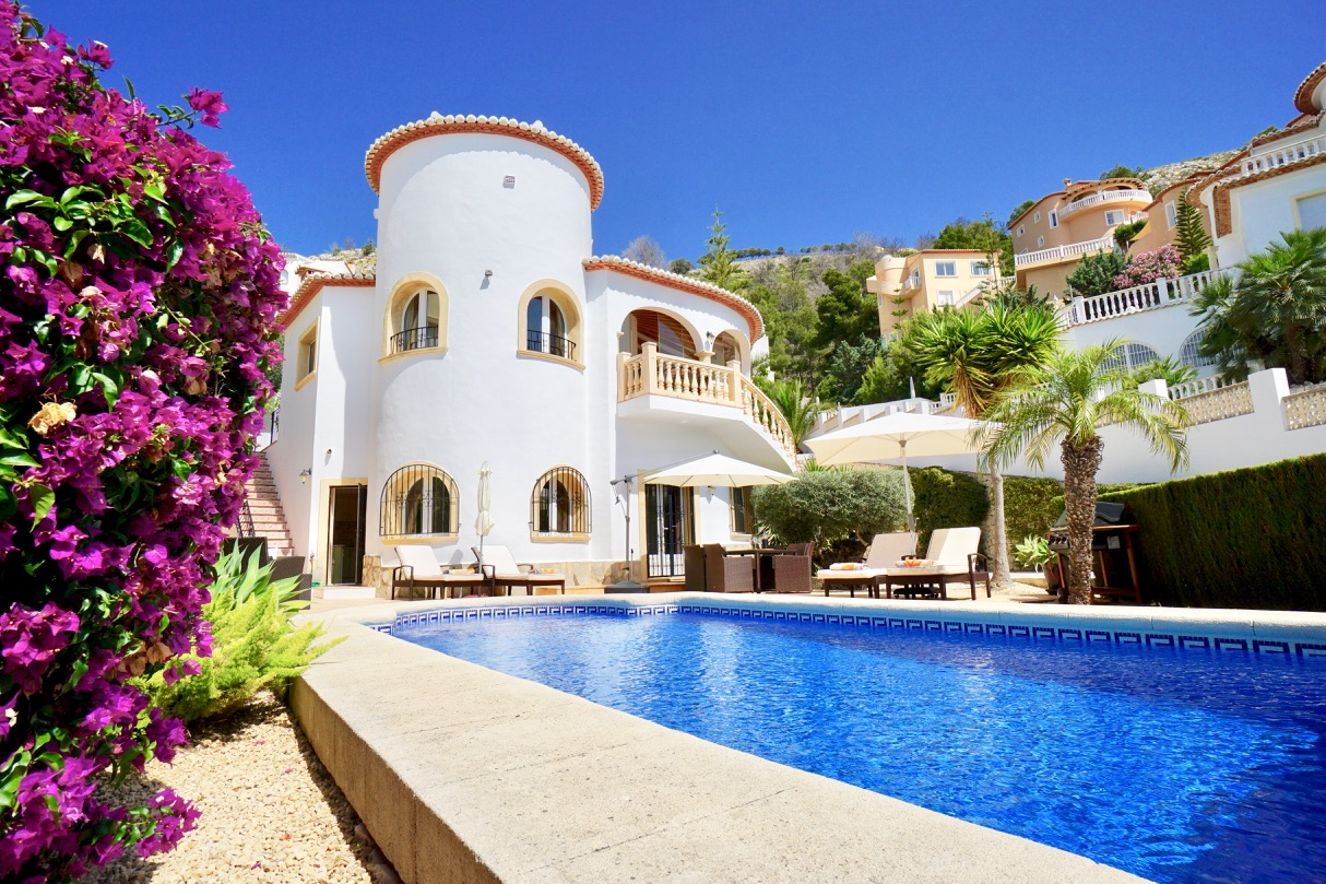 4 Bedroom Villa in Benitachell