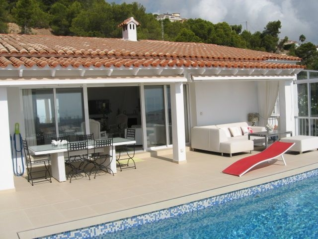 4 Bedroom Villa in Calpe